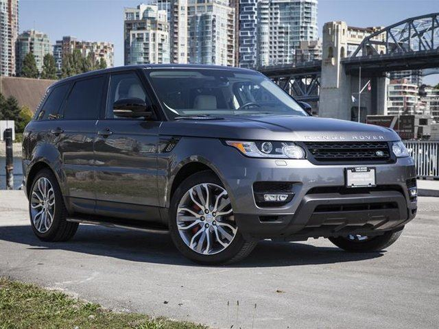 2015 LAND ROVER Range Rover Sport V8 Supercharged Dynamic in Vancouver, British Columbia