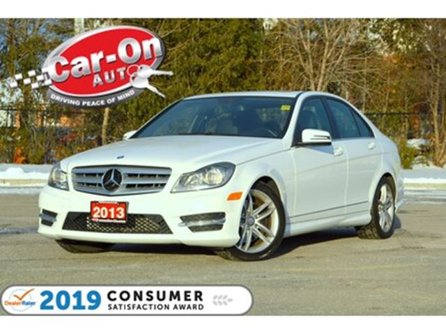 2013 MERCEDES-BENZ C-CLASS C 300 4MATIC ONLY 61,000 KM LEATHER SUNROOF LOADED in Ottawa, Ontario