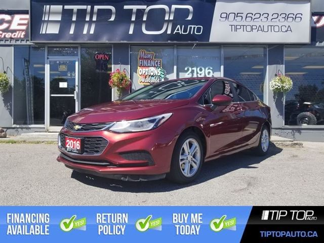2016 CHEVROLET CRUZE LT ** Bluetooth, Backup Camera, Heated Seats ** in Bowmanville, Ontario
