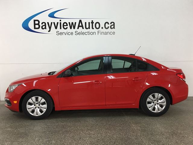 2016 CHEVROLET CRUZE - 1.8L! A/C! BLUETOOTH! ON STAR! PWR GROUP! in Belleville, Ontario