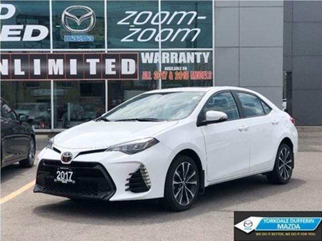 2017 Toyota Corolla SE / CAM / HEATED SEATS / SUNROOF / AND MORE!! in Toronto, Ontario