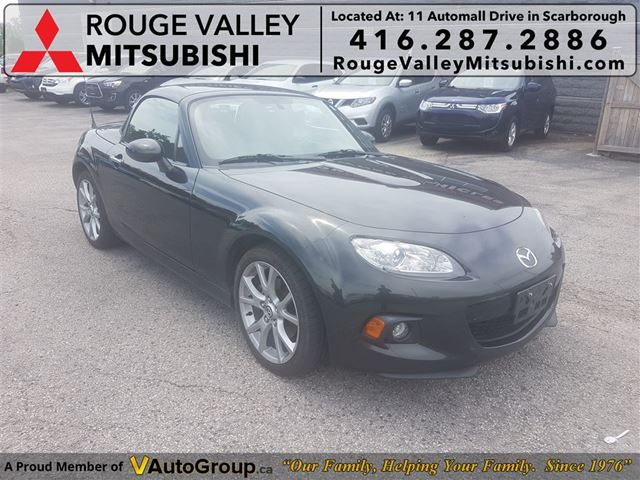 2013 MAZDA MX-5 Miata  GT! PR HD/ TOP MODEL! NO ACCIDENTS!! in Scarborough, Ontario
