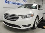 2013 Ford Taurus SEL AWD with NAV, sunroof, heated power leather front seats in Edmonton, Alberta