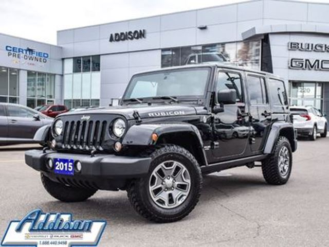 2015 JEEP Wrangler Unlimited Rubicon in Mississauga, Ontario