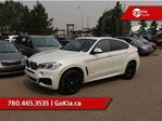 2017 BMW X6 M-SPORT! LOW KM, NAV, HEADS-UP DISPLAY, HEATED FRONT/REAR SEATS, SUNROOF, RED LEATHER, AWD in Edmonton, Alberta
