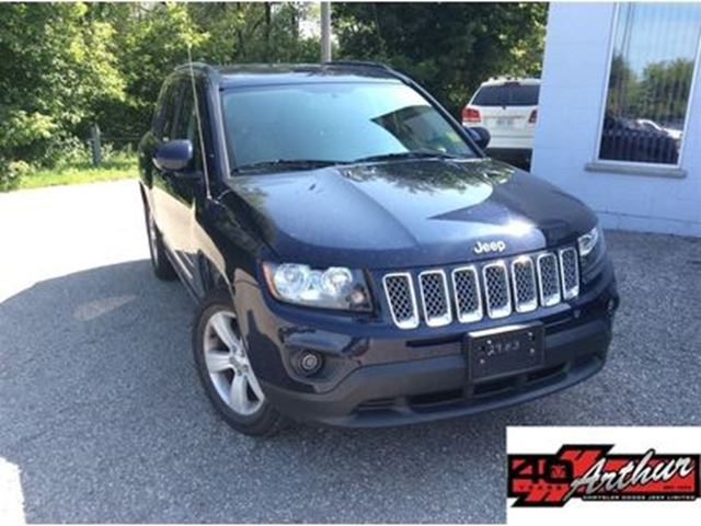 2016 Jeep Compass North 4x4...ONLY 16,236 Km in Arthur, Ontario