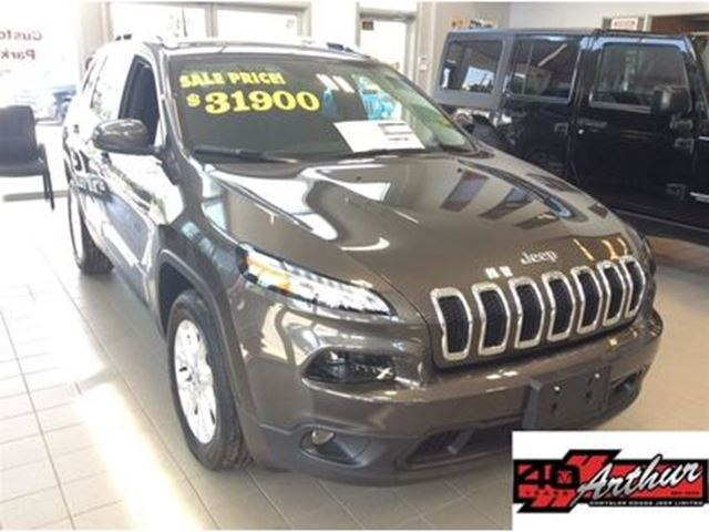 2018 Jeep Cherokee North Only 34 Km in Arthur, Ontario