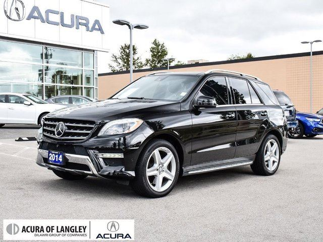 2014 MERCEDES-BENZ M-Class 4MATIC in Langley, British Columbia