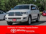 2018 Toyota Sequoia 4WD PLATINUM 5.7 L in Whitby, Ontario