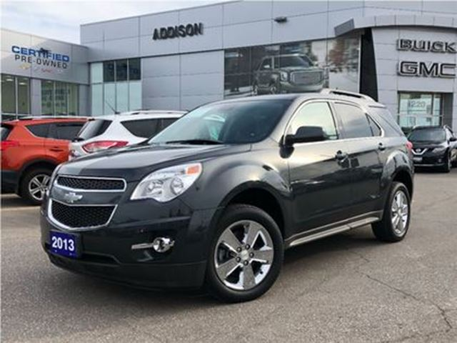 2013 CHEVROLET Equinox 2LT accident free, navigation in Mississauga, Ontario