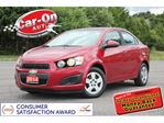 2014 Chevrolet Sonic ONLY 46,000 KM AS LOW AS $63 BI-WEEKLY o.a.c in Ottawa, Ontario