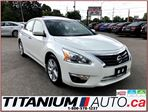 2015 Nissan Altima SL+Camera+GPS+Blind Spot+Leather Seats+Sunroof+XM in London, Ontario