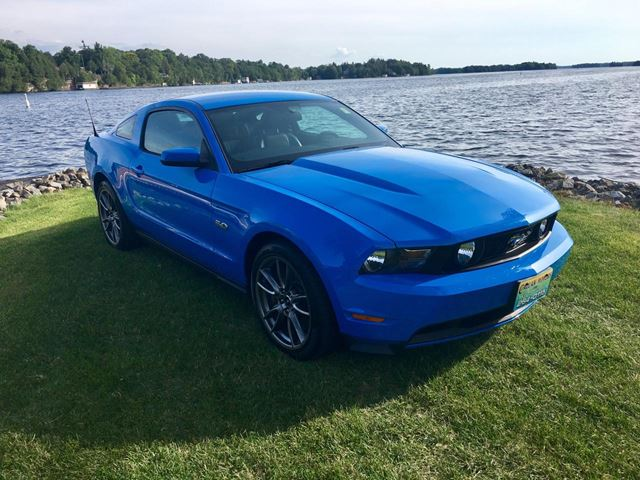 2011 Ford Mustang GT ONLY 7828 km in Perth, Ontario