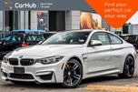 2018 BMW M4  Dual_Clutch Keyless_Go Nav H/K Audio Backup_Cam 19Alloys in Thornhill, Ontario