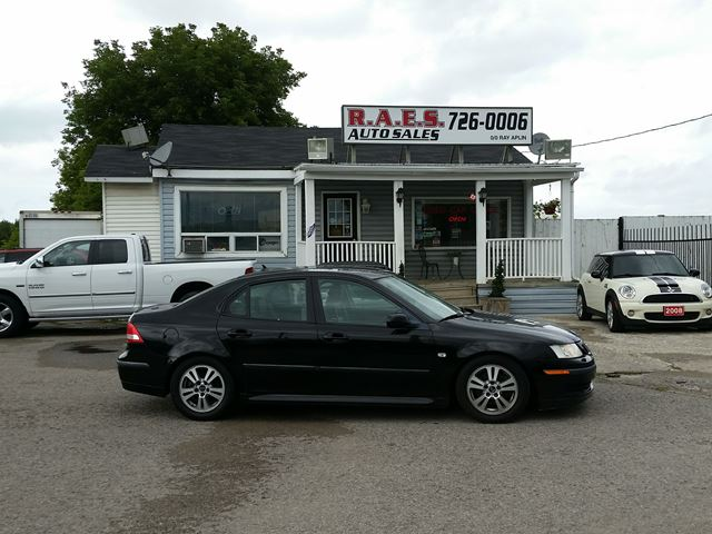 2007 SAAB 9-3 6 SPD. LEATHER  in Barrie, Ontario
