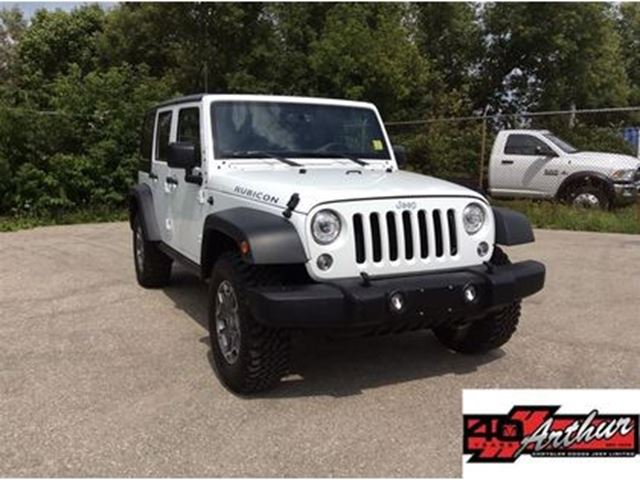 2017 Jeep Wrangler Unlimited Rubicon in Arthur, Ontario