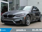 2017 BMW M3 M3 COMPETITION PREMIUM ALL ADDS SHES A BEAUT in Edmonton, Alberta