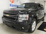 2008 Chevrolet Suburban LT 4WD with sunroof, power leather drivers seat, heated rear seats, rear DVD entertainment, rear climate control and power liftgate in Edmonton, Alberta
