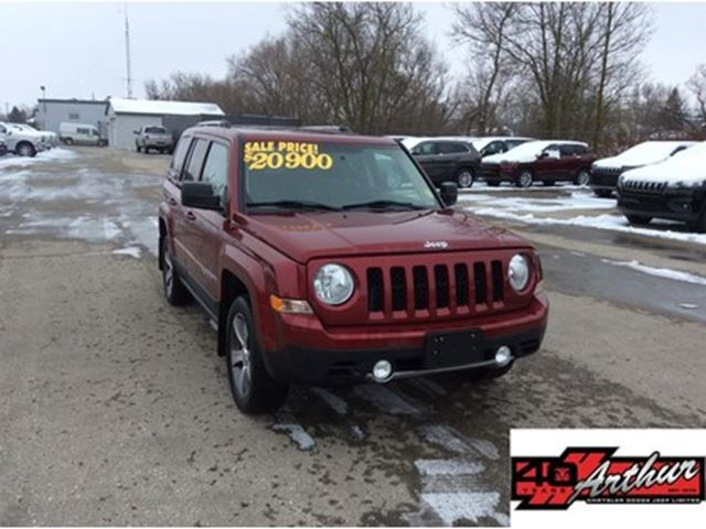 2016 Jeep Patriot High Altitude 4x4..Leather & Sunroof in Arthur, Ontario