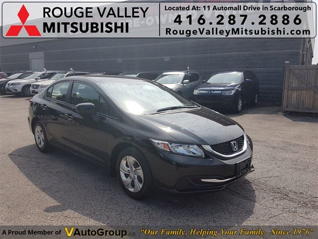 2014 HONDA Civic LX, NO ACCIDENTS, ONLY 17000KM !!! in Scarborough, Ontario