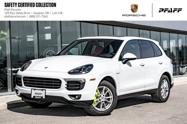 2018 PORSCHE Cayenne S e-Hybrid Platinum Edition in Woodbridge, Ontario