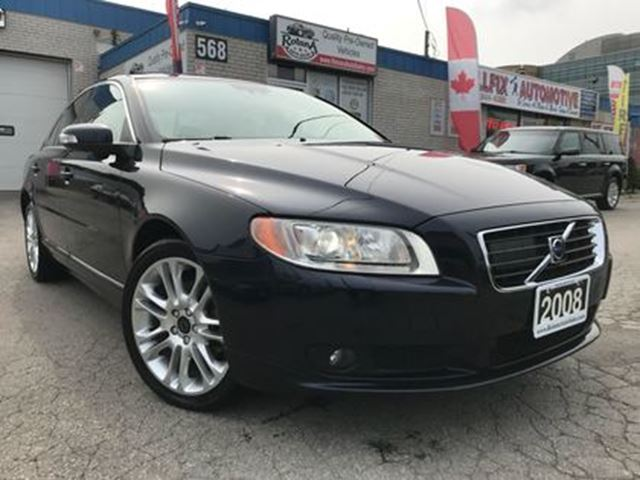 2008 VOLVO S80 3.2 AWD_NAVI_LEATHER_SUNROOF in Oakville, Ontario