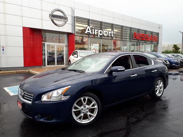 2014 NISSAN Maxima 3.5 SV ,LEATHER,ROOF,ALLOYWHEELS in Brampton, Ontario