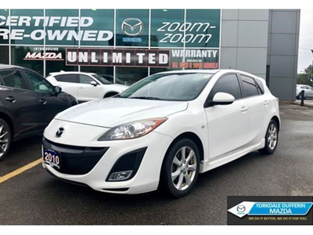 2010 MAZDA MAZDA3 Sport GS / A/C / MOONROOF / HATCH / LOW KMS!!! in Toronto, Ontario