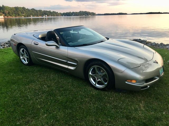 2001 CHEVROLET Corvette Convertible With Only 48500 km spectacular cond in Perth, Ontario