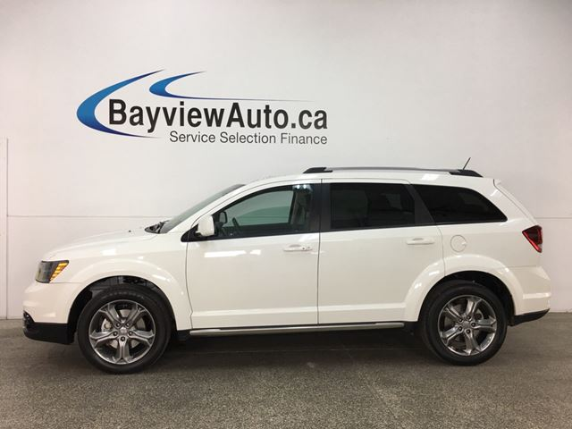 2017 Dodge Journey Crossroad - 7 PASS! SUNROOF! DVD! NAV! REVERSE CAM! U-CONNECT! in Belleville, Ontario