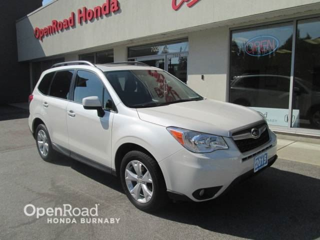 2015 SUBARU Forester i Touring Sunroof, Bluetooth, Back-up Camera in Burnaby, British Columbia