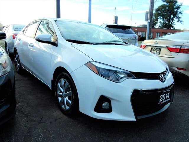 2014 Toyota Corolla S  AUTO  ONE OWNER  BACK UP CAMERA in Kitchener, Ontario