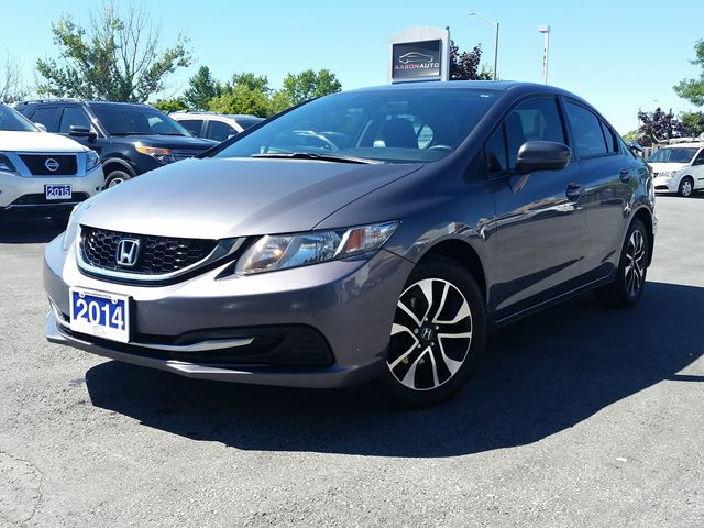 2014 Honda Civic EX-SUNROOF--HEATED SEATS--BLUETOOTH in Belleville, Ontario