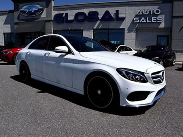2015 MERCEDES-BENZ C-Class 4MATIC AMG STYLING PKG.NAVIGATION PANOR ROOF MORE. in Ottawa, Ontario