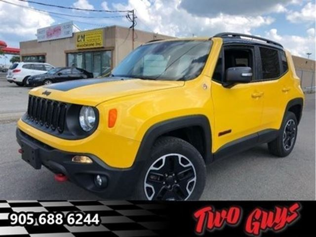 2016 Jeep Renegade Trailhawk NAV 4x4 CAM GREAT COLOUR in St Catharines, Ontario