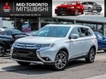 2017 Mitsubishi Outlander GT 7 PSGR AWD Leather Sunroof Blind Spot in Toronto, Ontario