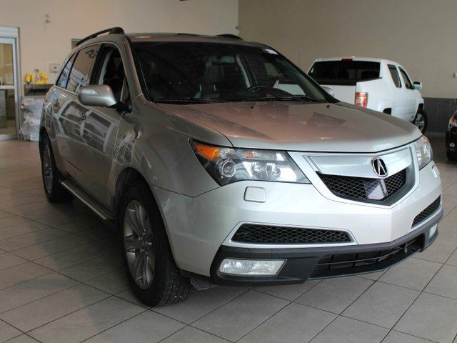 2012 ACURA MDX SPTENT - 3rd Row Seats, Heated Leather, Sunroof, Remote Start in Red Deer, Alberta