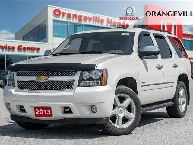 2013 CHEVROLET Tahoe LTZ NAVIGATIO BACK UP CAM HEATED AND A/C SEATS in Orangeville, Ontario