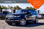 2016 Land Rover Range Rover Sport Td6 HSE 4x4 Diesel Navi Pano Sunroof Backup Cam Bluetooth Leather 20Rims in Bolton, Ontario