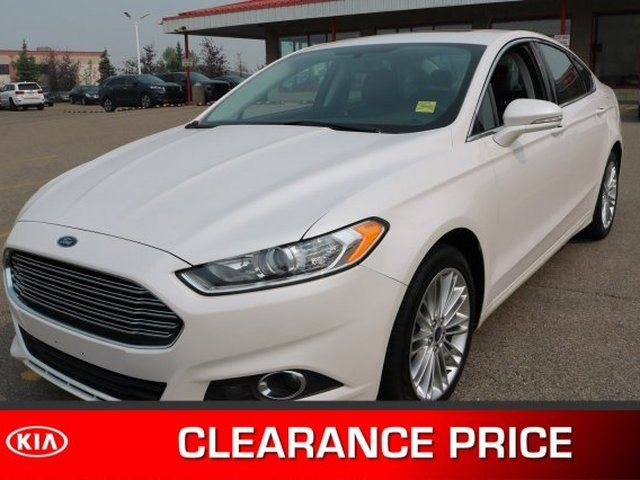 2014 Ford Fusion AWD SE Navigation (GPS), Leather, Sunroof, Back-up Cam, Bluetooth, A/C, - Edmonton in Sherwood Park, Alberta