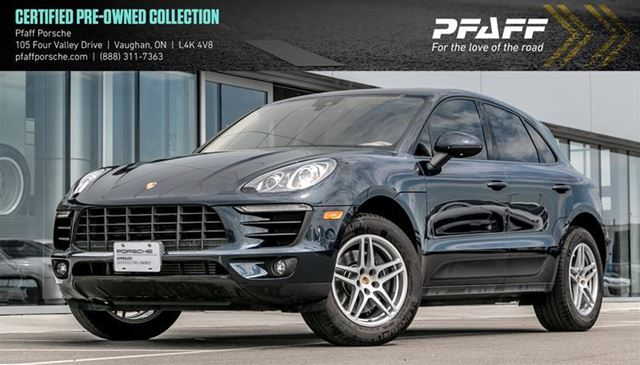 2017 PORSCHE Macan           in Woodbridge, Ontario