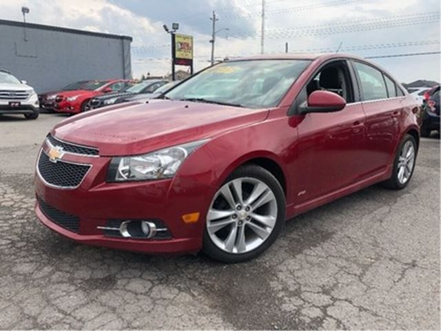 2014 Chevrolet Cruze 2LT RS SUNROOF LEATHER MAGS in St Catharines, Ontario