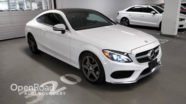 2017 MERCEDES-BENZ C-Class 2dr Cpe C 300 4MATIC in Vancouver, British Columbia