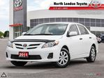 2011 Toyota Corolla CE No Accidents, Toyota Serviced in London, Ontario