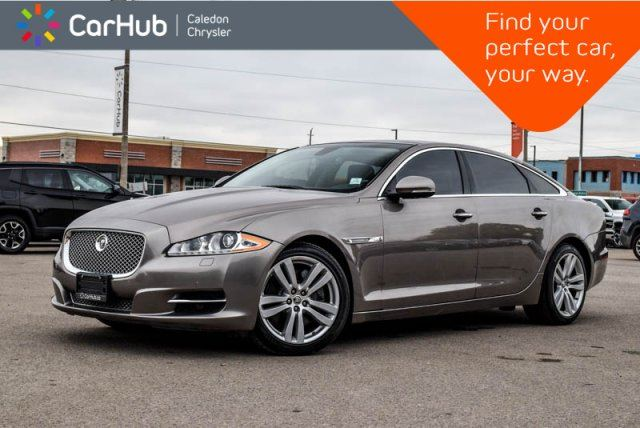 2011 Jaguar XJ Series XJ XJL Navi Pano Sunroof Backup Cam Blind Spot Leather Bluetooth Heated Front Seats 19Alloy in Bolton, Ontario