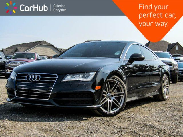 2013 Audi A7 3.0 Premium Quattro Navi Sunroof Backup Cam Bluetooth Leather Heated Front Seats 18Alloy in Bolton, Ontario