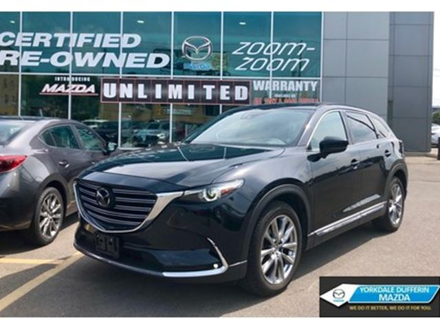 2017 MAZDA CX-9 Signature / FULLY LOADED / TECH PKG / CPO!!! in Toronto, Ontario