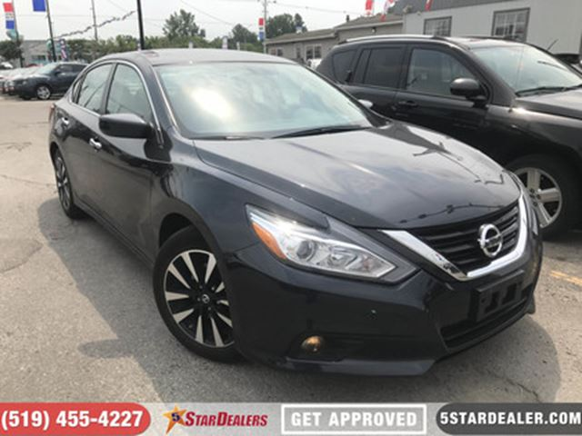 2018 Nissan Altima 2.5 SV   ONE OWNER   CAM   HEATED SEATS in London, Ontario