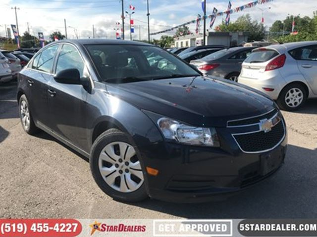 2014 Chevrolet Cruze 1LT   CAR LOANS FOR ALL CREDIT in London, Ontario