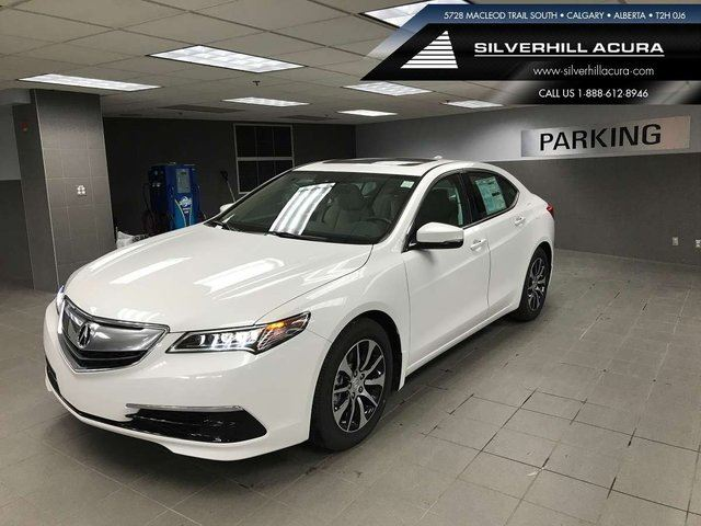 2017 ACURA TLX Tech 4dr FWD Sedan in Calgary, Alberta